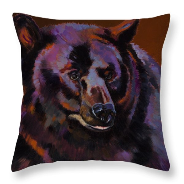 Great Bear Throw Pillow by Bob Coonts