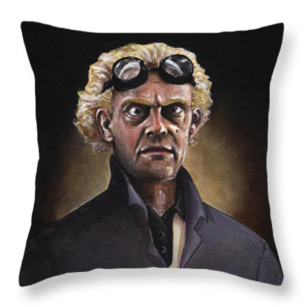 Great Scott Throw Pillow by Richardson Comly