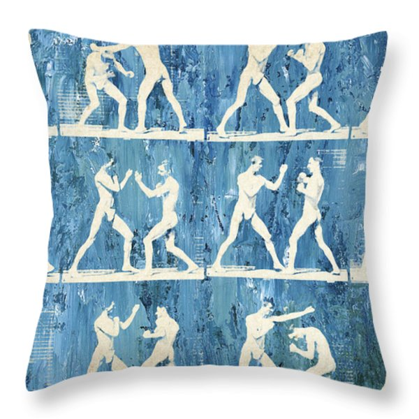 Grudge Match Throw Pillow by Aged Pixel