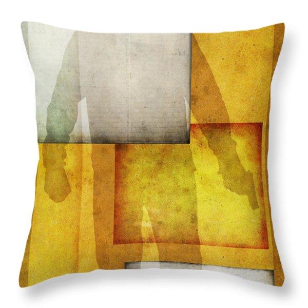 Gunman Throw Pillow by Edward Fielding