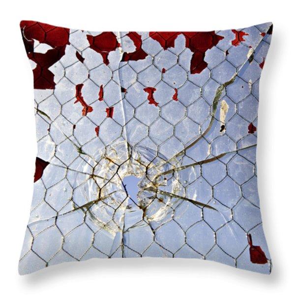 H O M I C I D E Throw Pillow by Charles Dobbs