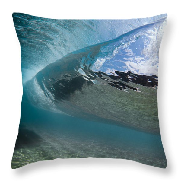 H30 Roll Throw Pillow by Sean Davey