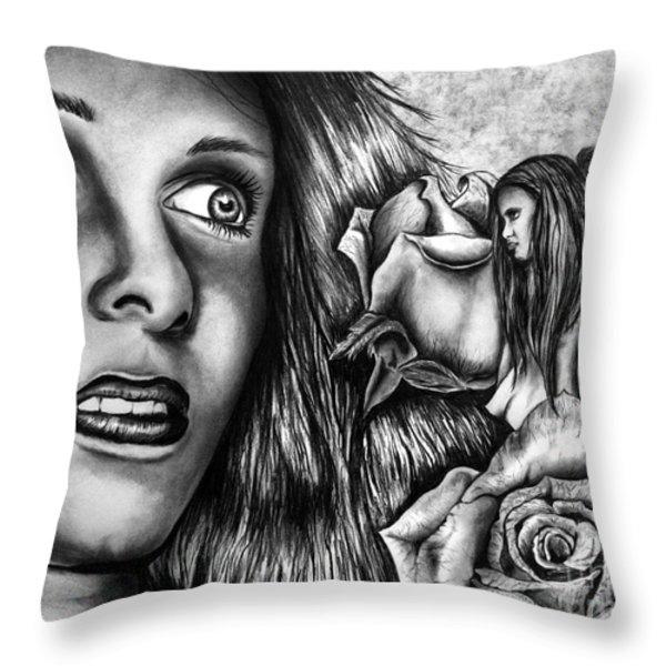 Haleys Apparition Throw Pillow by Peter Piatt