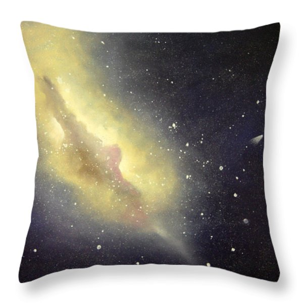 Halley Throw Pillow by Cynthia Lassiter