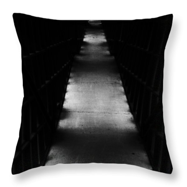 Hallway to Nowhere Throw Pillow by Christi Kraft