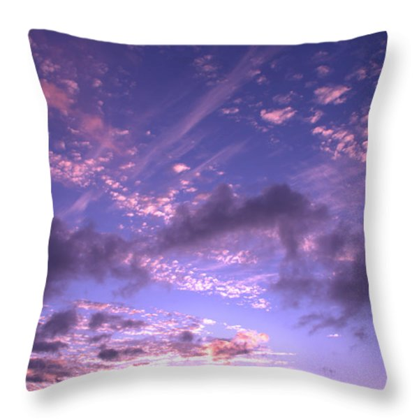 Hanalei Sunset 2 Throw Pillow by Brian Harig