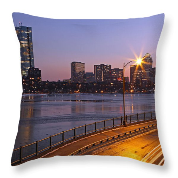 Hancock and Pru Throw Pillow by Juergen Roth