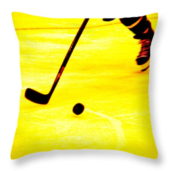 Handling It Throw Pillow by Karol  Livote