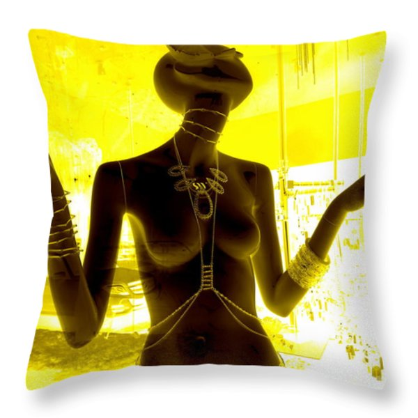 Hands Of Peace Throw Pillow by Ed Weidman