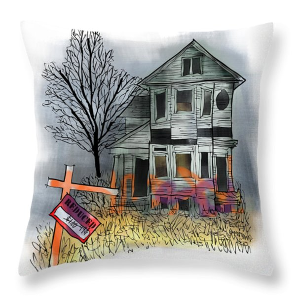 Handyman's Special Throw Pillow by Mark Armstrong