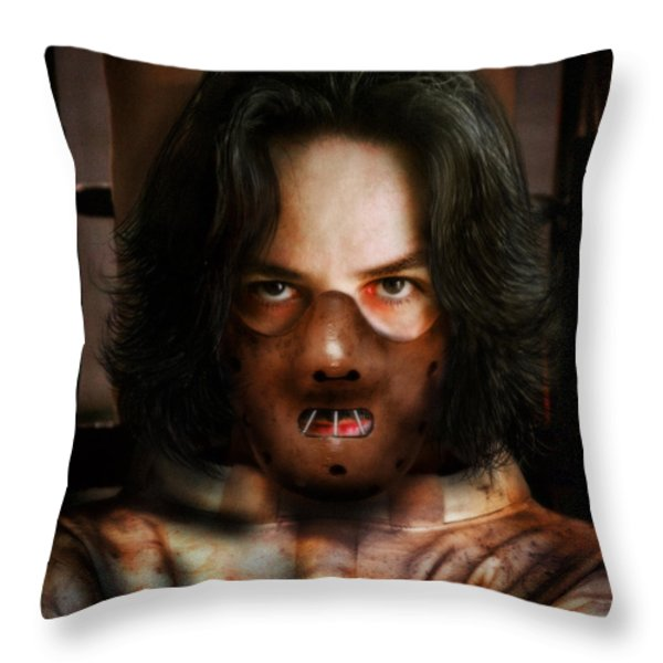 Hannibal... Throw Pillow by Alessandro Della Pietra