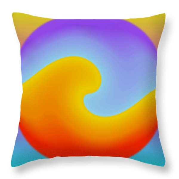 Harmony Throw Pillow by Mike Breau