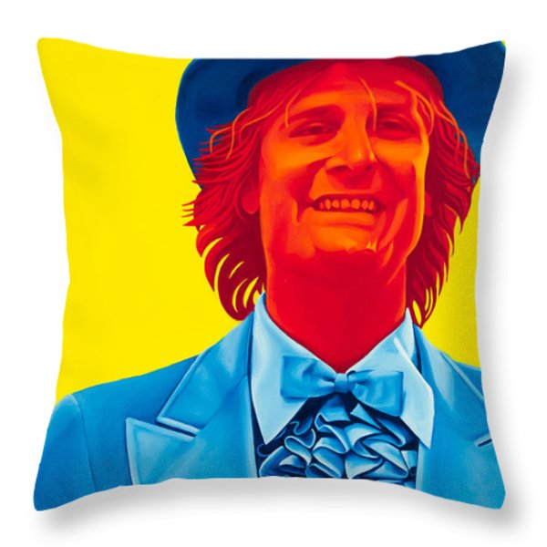 Harry Dunne Throw Pillow by Ellen Patton