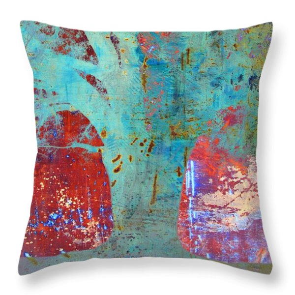 Havana Oak Throw Pillow by Jan Amiss Photography