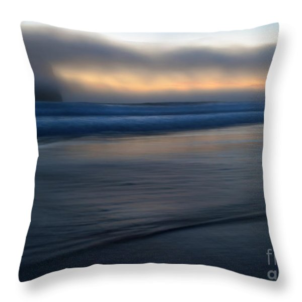 Haystack Hidden Throw Pillow by Mike  Dawson