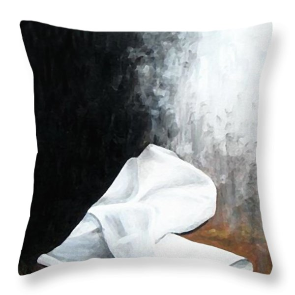 He Is Risen Throw Pillow by Kume Bryant