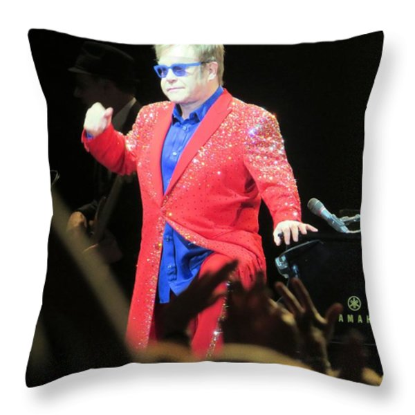 He Still Has It Throw Pillow by Aaron Martens