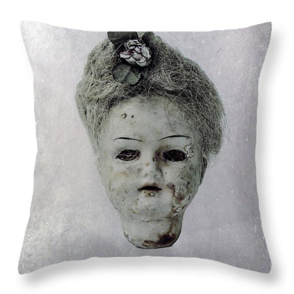 Head Throw Pillow by Joana Kruse