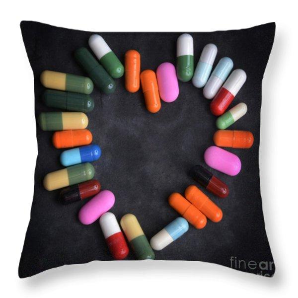 Heart concept Throw Pillow by BERNARD JAUBERT