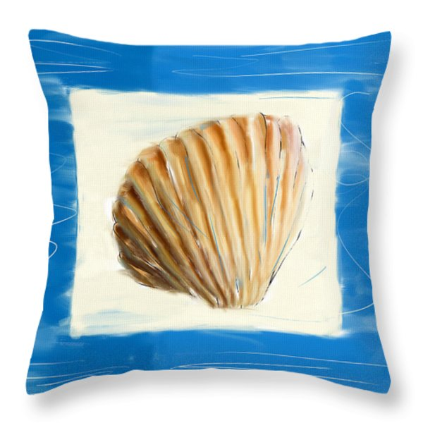 Heart Of The Sea Throw Pillow by Lourry Legarde