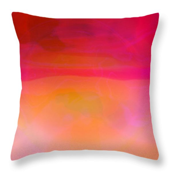 Heat Throw Pillow by Pauli Hyvonen