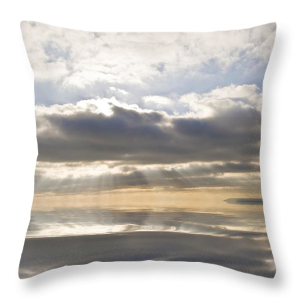 Heaven Throw Pillow by Matthew Gibson