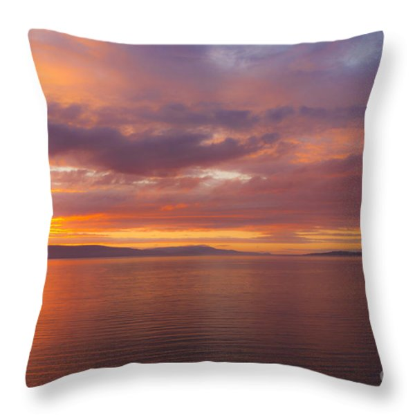 Heavenly Fire Throw Pillow by Heiko Koehrer-Wagner