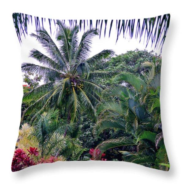 Heavenly Hana Throw Pillow by Karon Melillo DeVega