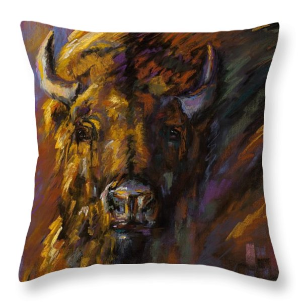 Heavy Throw Pillow by Frances Marino