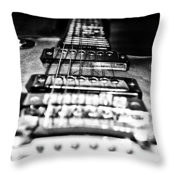 Heavy Metal Throw Pillow by Bill Cannon