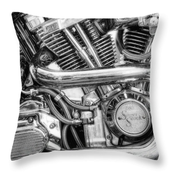 Heavy Metal Thunder Throw Pillow by Scott Norris