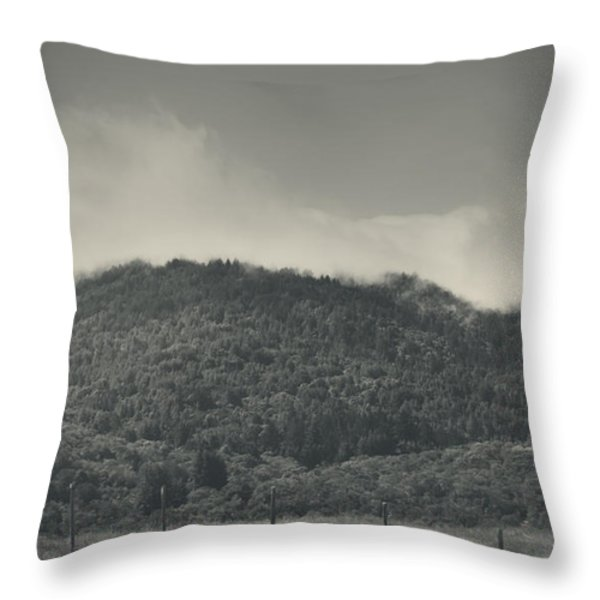 Held Back Throw Pillow by Laurie Search