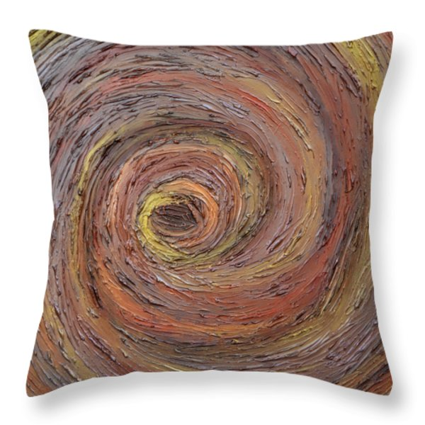 Helix Throw Pillow by Angelina Vick