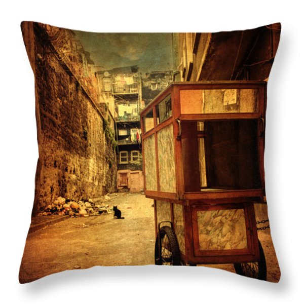 Helldorado Throw Pillow by Taylan Soyturk