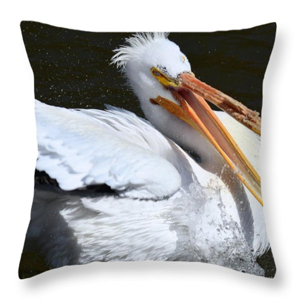 Hello My Ragtime Gal Throw Pillow by Maria Urso