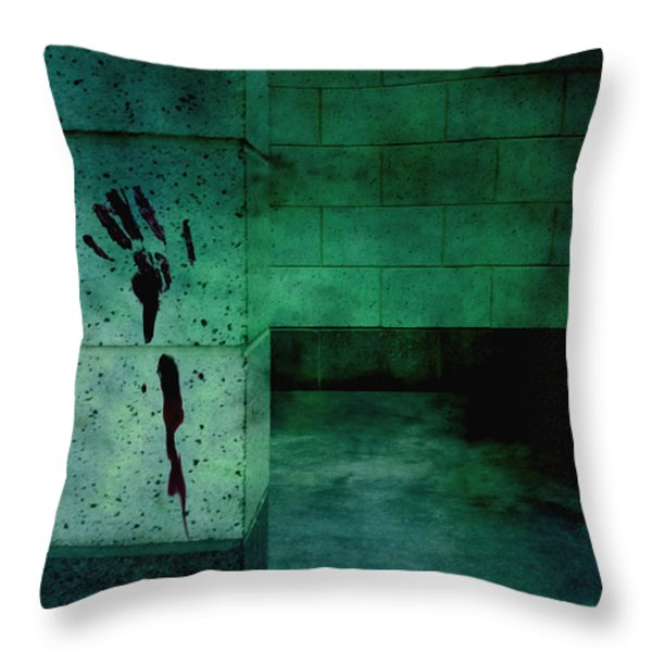 Help Throw Pillow by Margie Hurwich