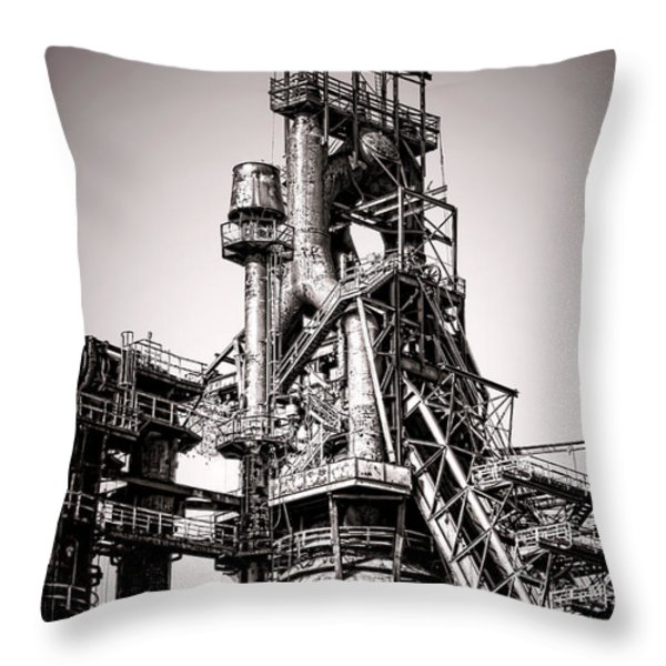Helter Smelter Throw Pillow by Olivier Le Queinec