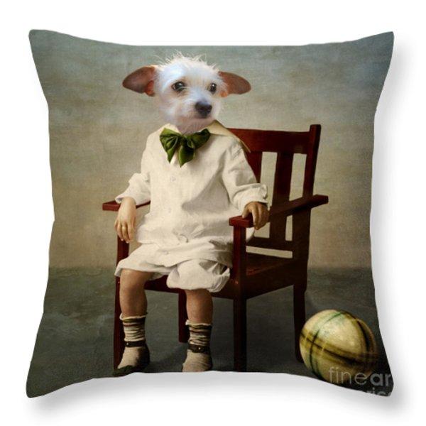 Henri Throw Pillow by Martine Roch