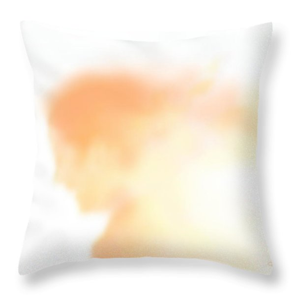 Her Happiness Throw Pillow by Kume Bryant