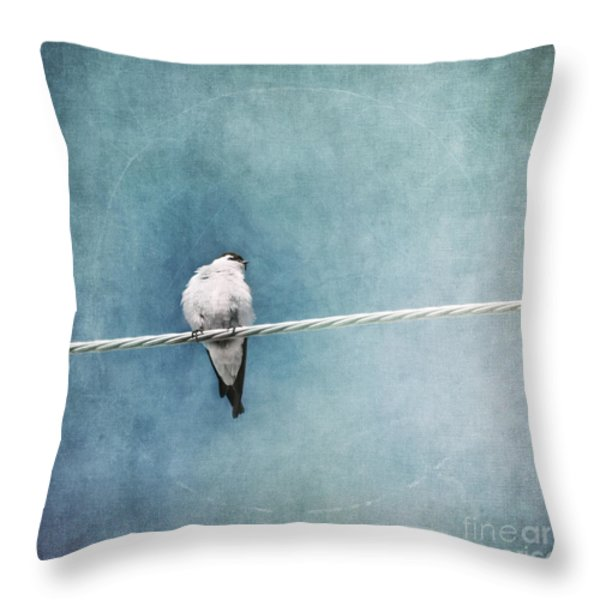 herald of spring Throw Pillow by Priska Wettstein