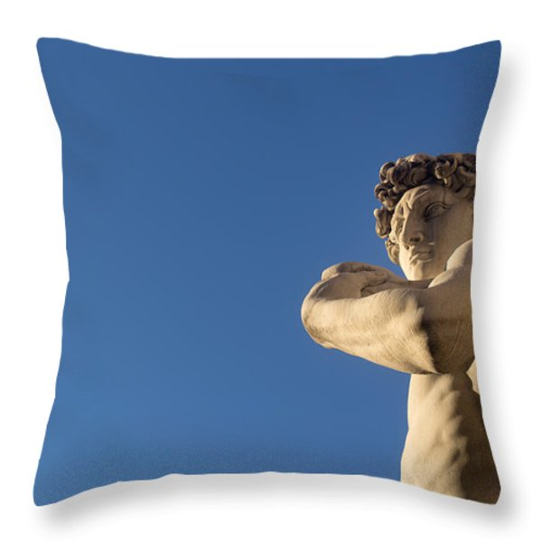 Hey beautiful.. Throw Pillow by A Rey