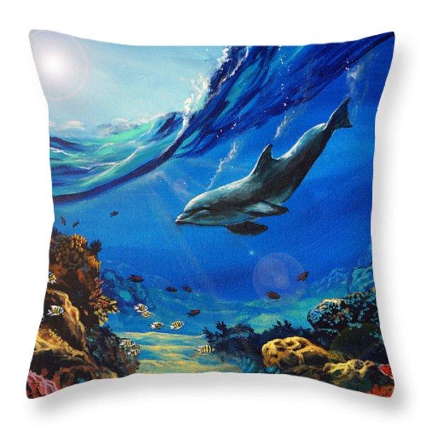 Hidden Splendor Throw Pillow by Marco Antonio Aguilar