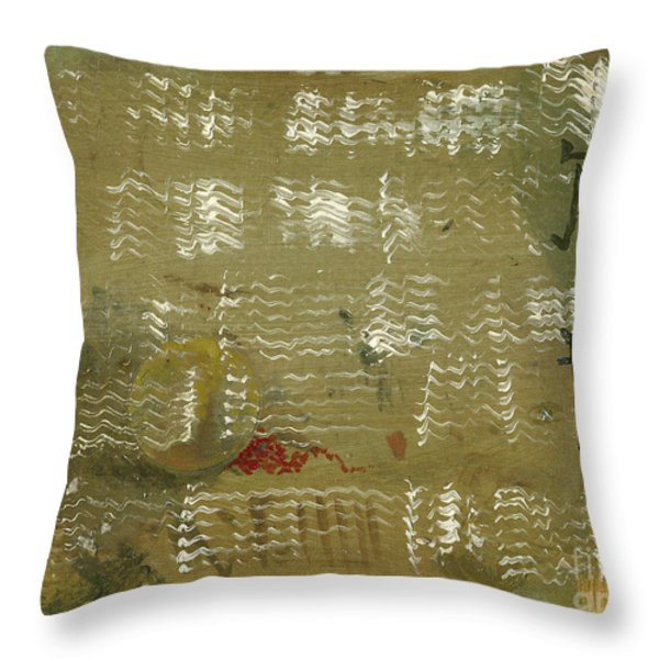 Hidden Sun Throw Pillow by Cathy Peterson