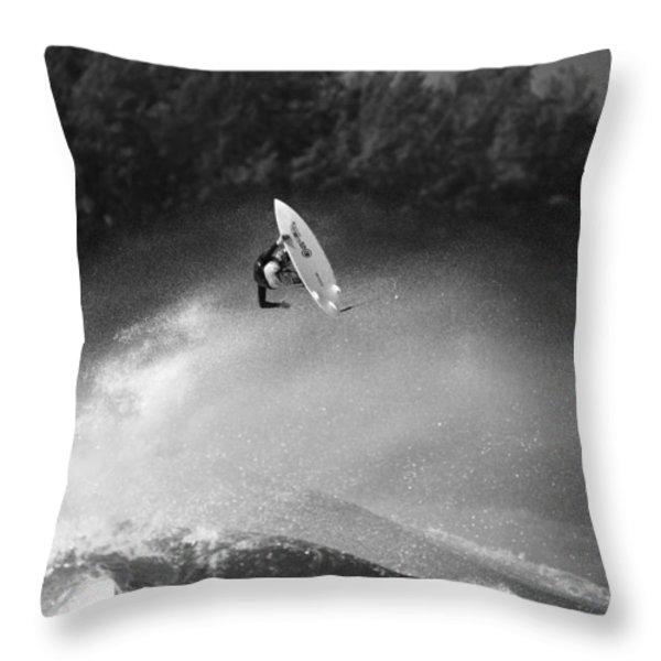 High Flyer Throw Pillow by Sean Davey