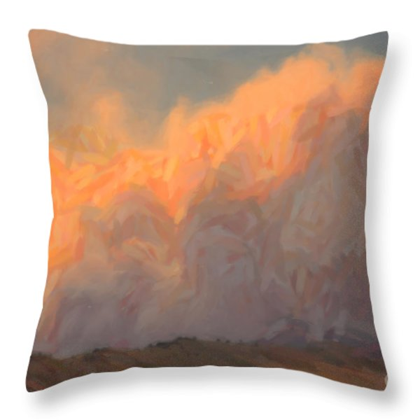 High Park Fire Throw Pillow by Jon Burch Photography
