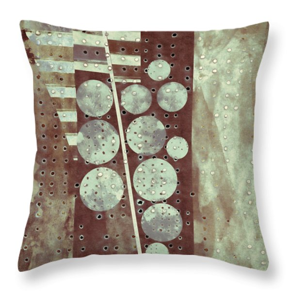 Highway 6 Throw Pillow by Carol Leigh