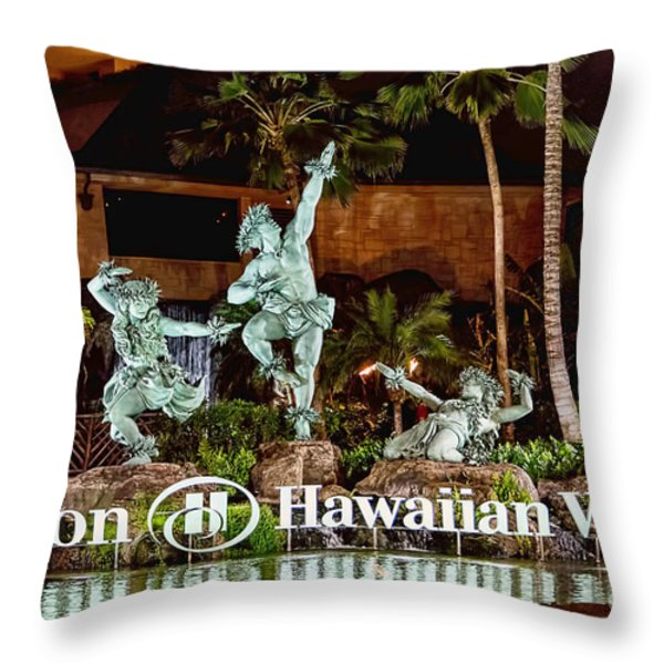 Hilton Throw Pillow by Jon Burch Photography