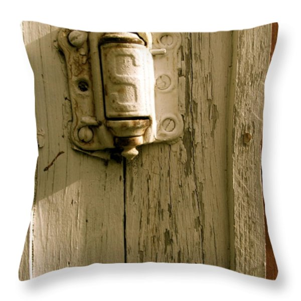 Hinge Throw Pillow by Jacqueline Athmann