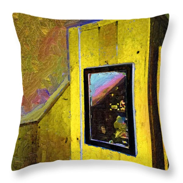 Home Again Throw Pillow by RC DeWinter