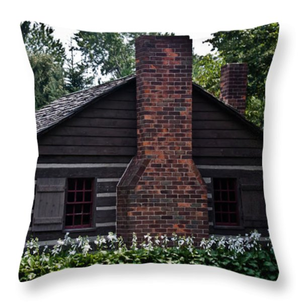 Home Sweet Home Throw Pillow by Joann Copeland-Paul